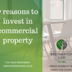 7 reasons to Invest In Commercial Property